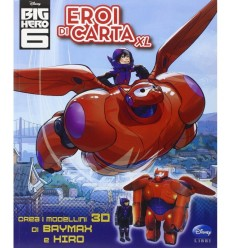 eroi di carta big hero 6 libro 9320WD Panini-Futurartshop.com