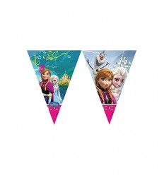Dekorationen Flagge Girlande frozen 5PR84630 New Bama Party- Futurartshop.com