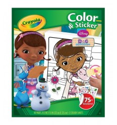 Album de coloriage Dr Plush 04-5827 Crayola- Futurartshop.com