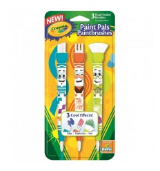 3 brosses pitturelli double fonction 05-1061 Crayola- Futurartshop.com