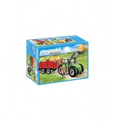Tractor with Trailer 6130 Playmobil- Futurartshop.com