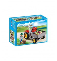 Tractor with Trailer 6131 Playmobil- Futurartshop.com