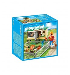 Rabbit with cage enclosure 6140 Playmobil- Futurartshop.com