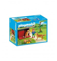 犬の家族の犬小屋 06134 Playmobil- Futurartshop.com
