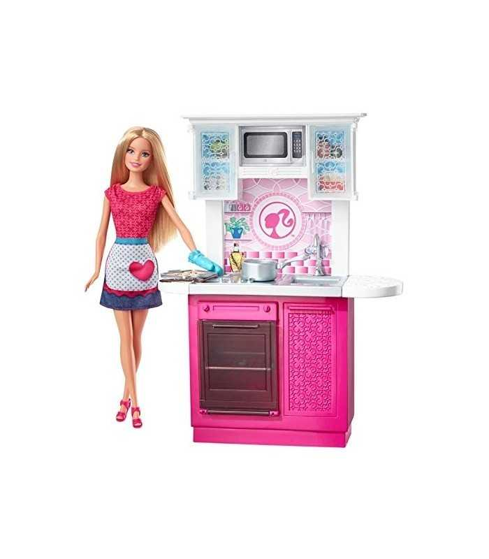 Dream Kitchen With Barbie Mattel