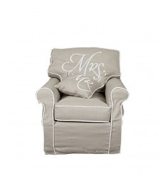 Poltrona signora Mrs. chair,linen 3223001 -Futurartshop.com