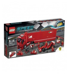 Transporter truck F14 T and stable Fe 75913 Lego- Futurartshop.com