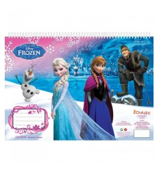 frozen coloring album with stickers DIS560419 Grandi giochi- Futurartshop.com