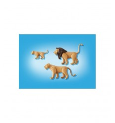 Familie von Lions in 6642 Playmobil- Futurartshop.com