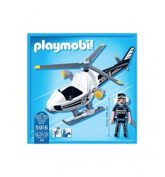 Ultra light police helicopter 5916 Playmobil- Futurartshop.com