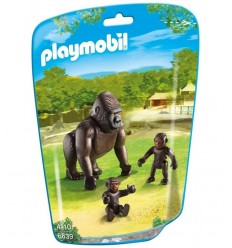 Gorilla con piccoli in bustina 6639 Playmobil-Futurartshop.com