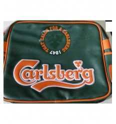 Sangle de Carlsberg Collège verte et orange 150551 Accademia- Futurartshop.com