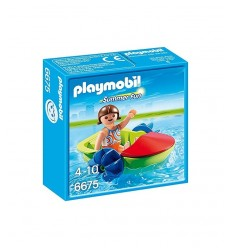 Ragazza con fun Boat 6675 Playmobil-Futurartshop.com