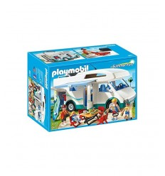 Camping-car Playmobil de vacanciers 6671 Playmobil- Futurartshop.com