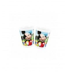 200 ml plastic cups Mickey 4063010A New Bama Party- Futurartshop.com