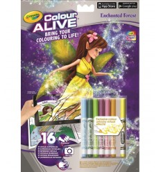 color alive album enchanted forest 95-1050 Crayola- Futurartshop.com