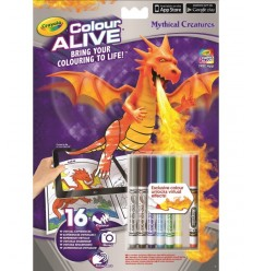 color alive album mythical creatures 95-1051 Crayola- Futurartshop.com