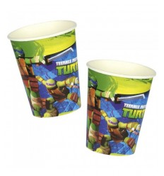 8 glasses Teenage Mutant ninja turtles CMG552466 Como Giochi - Futurartshop.com