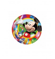 23 cm dishes 10 Mickey Mouse 2110221A New Bama Party- Futurartshop.com