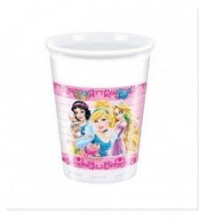 8 plastic cups 200 ml disney princesses 5031333A New Bama Party- Futurartshop.com