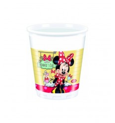 8 200 mm plastic cups minnie Cafe 20-23377 New Bama Party- Futurartshop.com