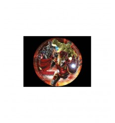 8 dishes avengers age of ultron 5032310A New Bama Party- Futurartshop.com
