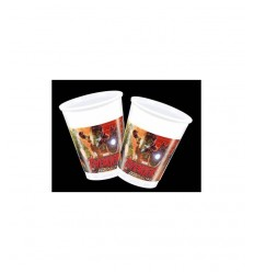 8 plastic cups avengers age of ultron 5032457B New Bama Party- Futurartshop.com