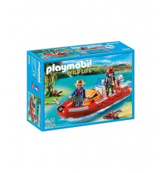 Dériveur avec explorateurs 5559 Playmobil- Futurartshop.com