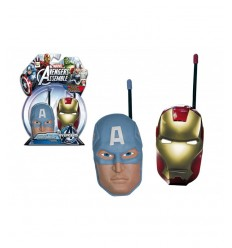 Avengers Iron Man Walkie Talkie und Captain America 390089AV1 IMC Toys- Futurartshop.com