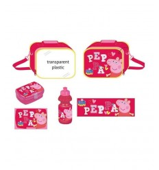 Peppa Pig rose petit déjeuner ensemble DK0480901 GDG Group- Futurartshop.com