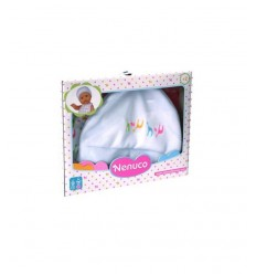 bib and hat set nenuco white 700011320/T19109 Famosa- Futurartshop.com