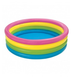 4 piscine de bague arc-en-ciel 564415 Intex- Futurartshop.com