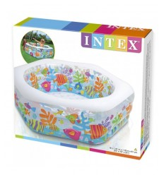 Piscine d'océan transparent 56493-NP Intex- Futurartshop.com