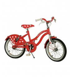 I Love Minnie mouse bike 16 MN1652199 Yakari- Futurartshop.com
