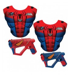 Spiderman set Mega laser luci e suoni 550902SP5 IMC Toys-Futurartshop.com