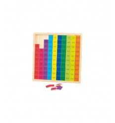 wooden multiplication Board RDF50477 Giochi Preziosi- Futurartshop.com