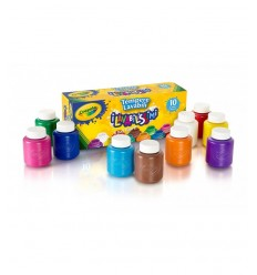 10 washable tempera colors 54-1205 Crayola- Futurartshop.com