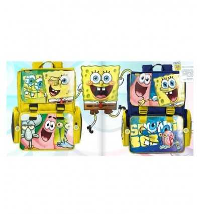 SpongeBob backpack 2 colors Extensible 141050 Accademia- Futurartshop.com