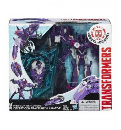 Transformers mini-con decepticon fracture character Deployers and airazor B0765EU40 B1977 Hasbro- Futurartshop.com