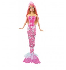 Mattel Barbie Mermaid mèches 9452 X Red X 9453 X9453 Mattel- Futurartshop.com