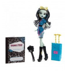 Mattel Monster High Doll Frankie visit Y7647-Y7643 Y7647 Mattel- Futurartshop.com