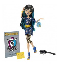 Mattel Monster High Y8496 4614 X photo jour, Cleo WS-FDZC-VEJA Mattel- Futurartshop.com