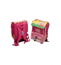 Sian trolley backpack Peppa Pig 140852 Accademia- Futurartshop.com