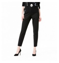 Pantalon stretch noir A5C 8215 136 VDP- Futurartshop.com