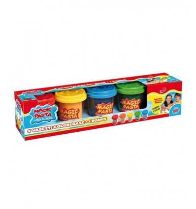 Great GG76001 Games-Magic Dough Base, 5 Jars GG76001 Grandi giochi- Futurartshop.com
