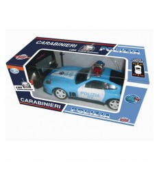 Police car radio controlled 7 functions GG50573 Grandi giochi- Futurartshop.com