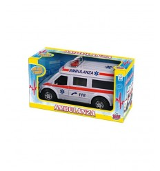Emergency ambulance 2 models GG50403 Grandi giochi- Futurartshop.com