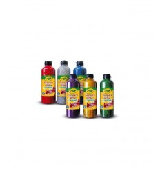 Crayola tempere glitter 25 ml 2x3 colori assortiti 3929 Crayola-Futurartshop.com
