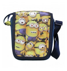 shoulder bag with flap minions BD01MN Nemesi- Futurartshop.com