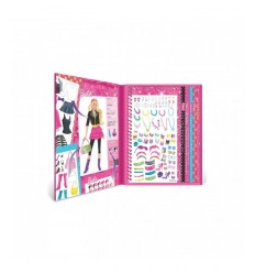 Fashion Angels Barbie stylist sticker 22303 Grandi giochi- Futurartshop.com